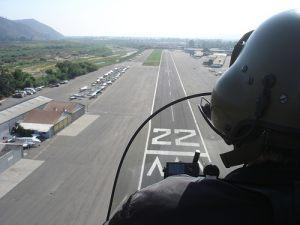 Landing Rwy 22 in Autogyro - The Predator